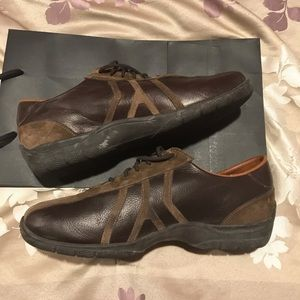 Allen Edmonds suede & leather men's lace up shoes